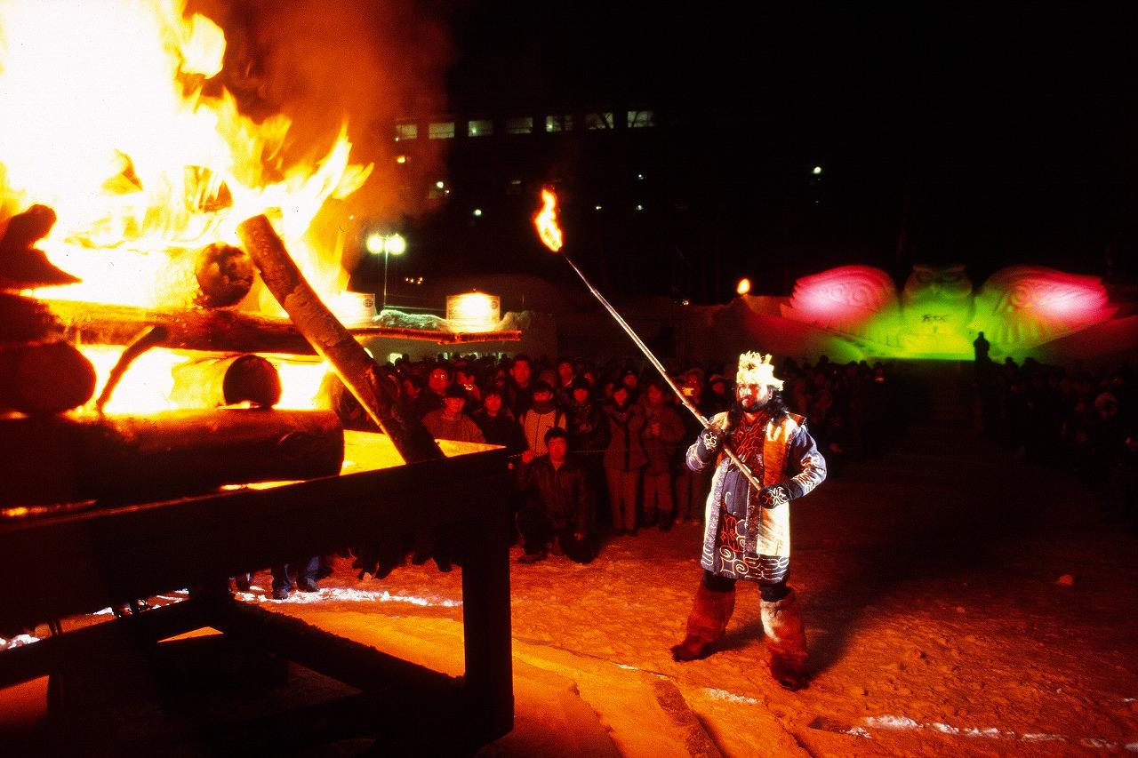 更新2回目:炎と火の神の使い